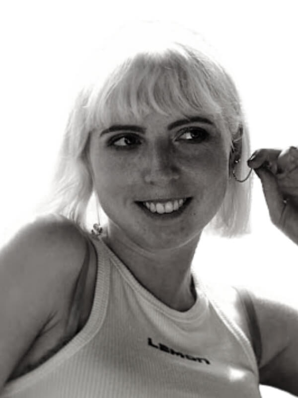 Black and white photo of Buttercup's illustrator.