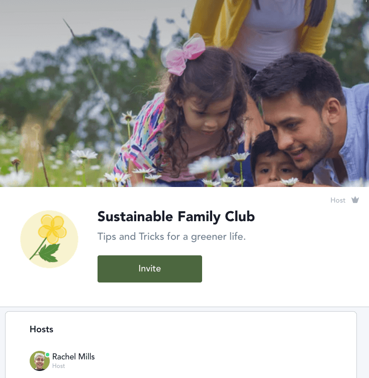 Click here to read more about the Sustainable Family Club